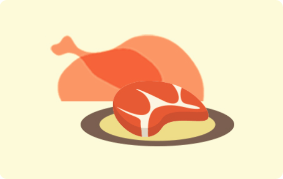 Meat Poultry Fish